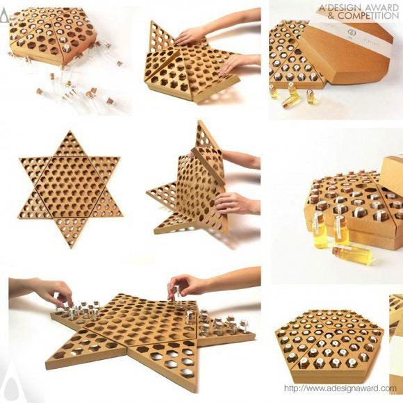 创意蜂巢蜂蜜包装